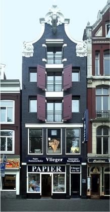 Pand van Vlieger aan de Amstel